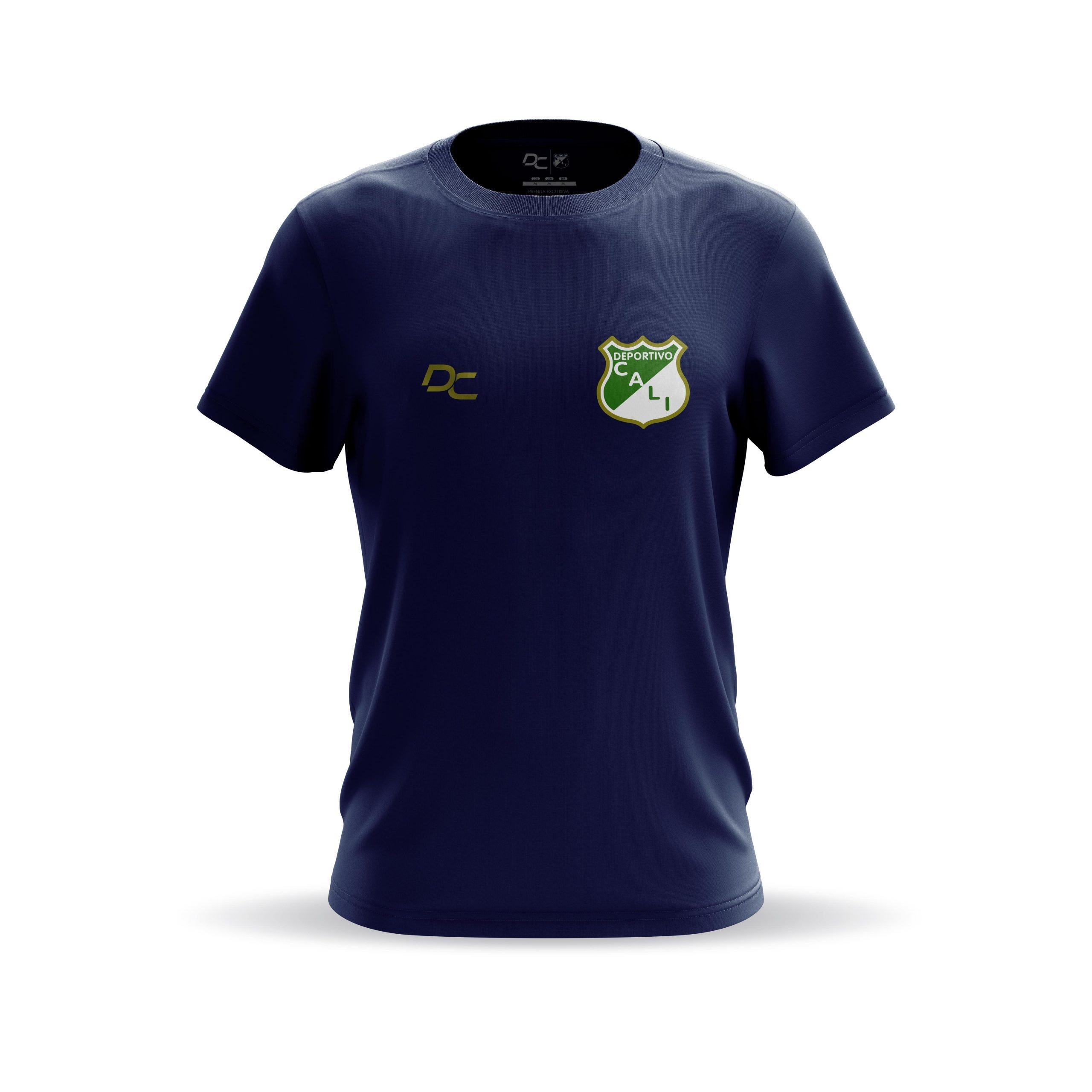 Camiseta Hombre Deportivo Cali Navy